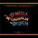 【送料無料】Al Di Meola/John McLaughlin/Paco De Lucia / Friday Night In San Fran