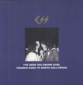 CSS / I've Seen You Drunk Gurl (EP)【輸入盤LPレコード】