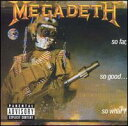 【Aポイント付】メガデス Megadeth / So Far So Good So What (CD)