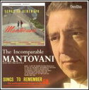 【メール便送料無料】Mantovani / Songs To Remember/The Incomparable Mantovani And His Orchestra (輸入盤CD) (マントヴァーニ)