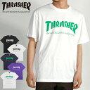 30%OFF THRASHER スラッシャー Tシャツ 半袖 メンズ レディース ユニセックス TH MAG LOGO TH8101 -20S