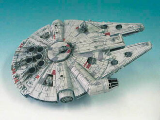 Star Wars 1/72 Millennium Falcon Plastic Model