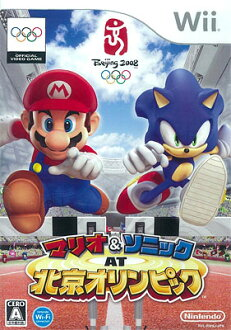 Wii Mario & Sonic AT Beijing Olympic(Back-order)