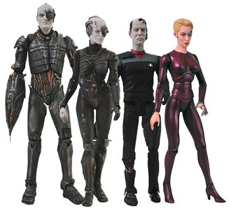 Star Trek Borg - Action Figure Series 1 (Assortment) (Single Shipment)