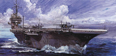 1/700 Seaway Model No.38 Kitty Hawk '98 Plastic Model(Back-order)(1/700 シーウェイモデル No.38 キティホーク '98 プラモデル)