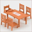 シルバニアファミリー 家具 ダイニングテーブルセット[エポック]《発売済・在庫品》