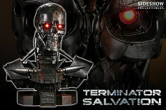 The Terminator4 Life-size Bust T-600(Single Shipment)