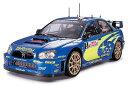 1/24 スポーツカーシリーズ No.281 スバル インプレッサ WRC モンテカルロ '05 プラモデル タミヤ 《取り寄せ※暫定》