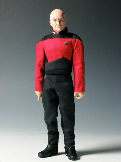 Star Trek The Next Generation - 1/6 Action Figure: Jean Luc Picard(Back-order)