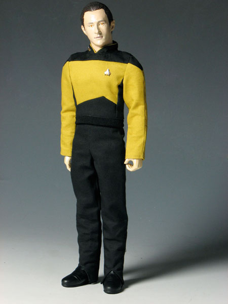 Star Trek The Next Generation - 1/6 Action Figure: Data(Released)