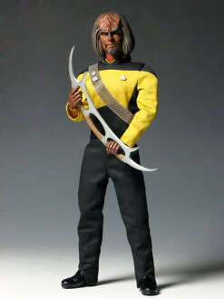 Star Trek The Next Generation - 1/6 Action Figure: Worf(Back-order)