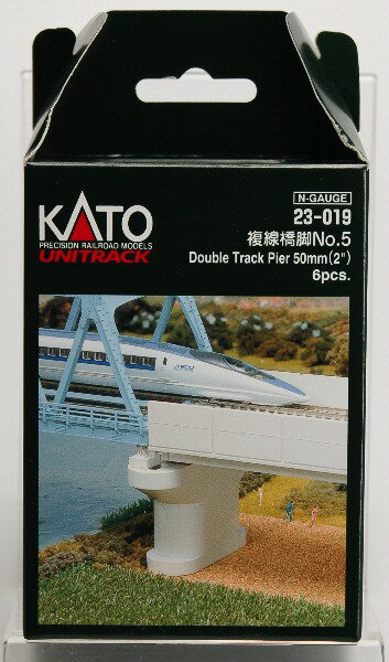 23-019 複線橋脚No.5 (6本入)[KATO]《取り寄せ※暫定》