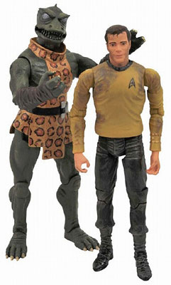 Star Trek The Original Series - Action Figure Two-Pack: Kirk VS Gorn