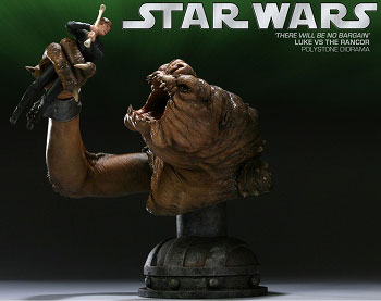 Star Wars Versus Diorama Statue Luke VS Rancor(Back-order)