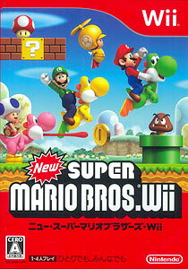 New Super Mario Bros. Wii(Released)(Wii NEW スーパーマリオブラザーズ Wii)