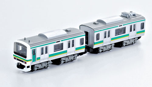 B-Train Shorty - E231 Joban Line (Set of 2 Cars) (Leading + Middle Car)(Released)(Bトレインショーティー E231系・常磐線 2両セット(先頭+中間車))