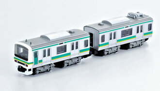 B-Train shorty E231 Joban Line 2 carriage Set(lead & middle car)