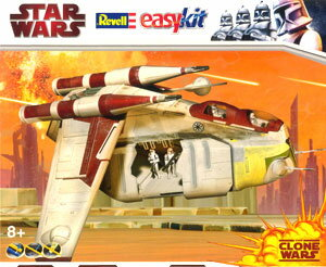 Revell Germany Star Wars Easy Kit - Plastic Model R06667 Republic Gunship