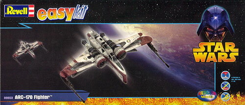 Revell Germany Plastic Model Star Wars ARC-170 Star Fighter