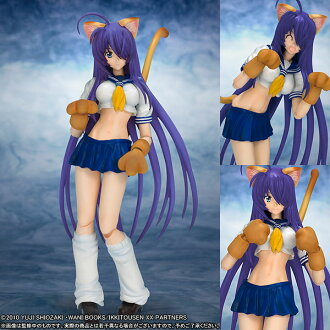 figutto! Ikkitousen XX - Unchou Kanu -Nekomimi ver.- Action Figure(Released)