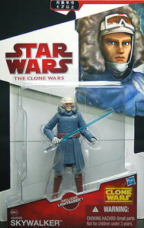 Star Wars: Clone Wars - Basic Figure Anakin Skywalker w/Cold Weather Gear(Back-order)