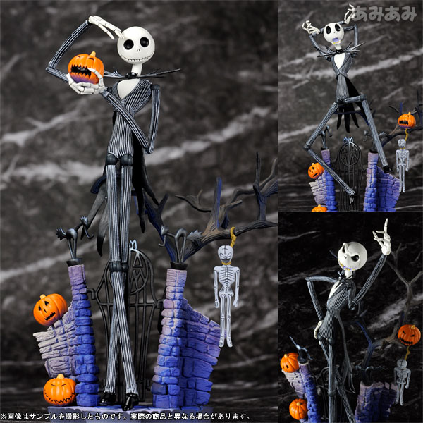 "Tokusatsu Revoltech No.005 Jack Skellington Regular Edition From ""Nightmare Before Christmas"""
