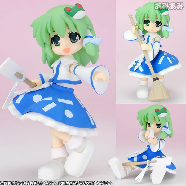 Mameshiki - Touhou Project: Sanae Kochiya Action Figure(Released)