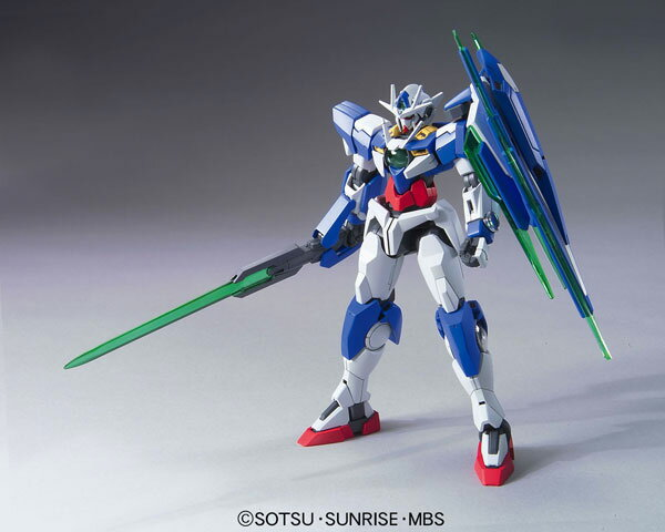 HG Mobile Suit Gundam 00 the Movie 1/144 Double O Qan[T] Plastic Model