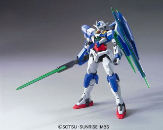 HG Mobile Suit Gundam 00 The Movie 1/144 Double O Qan[T] Plastic Model