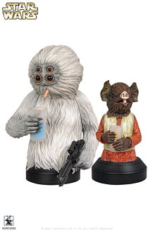 Star Wars - Mini Bust: Kabe & Muftak