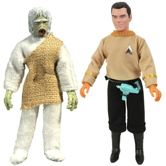 Star Trek The Original Series - Mego Action Figure: Series 8 2 Figure Set