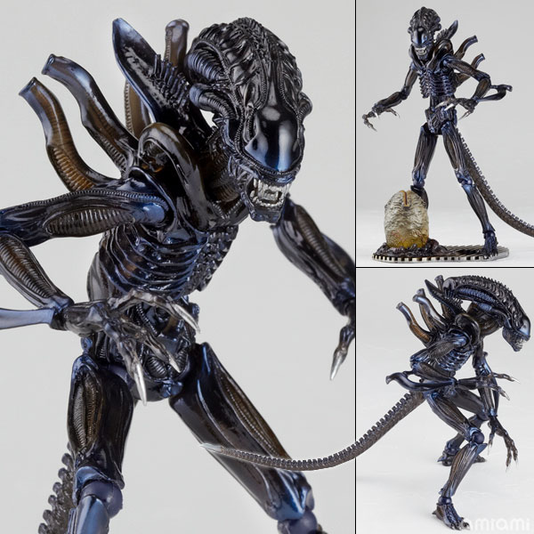 Tokusatsu Revoltech No.016 Alien Warrior(Back-order)