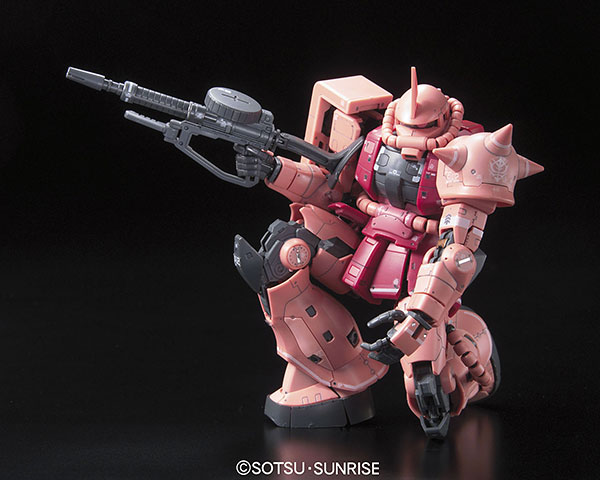 RG 1/144 Mobile Suit Gundam MS-06S Char's Zaku Plastic Model (Released)