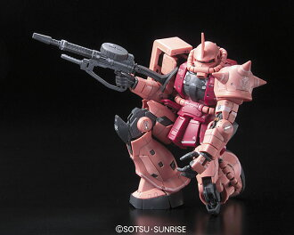 RG 1/144 MS-06S Char's Zaku Plastic Model (Released)(RG 1/144 MS-06S シャア専用ザク プラモデル)