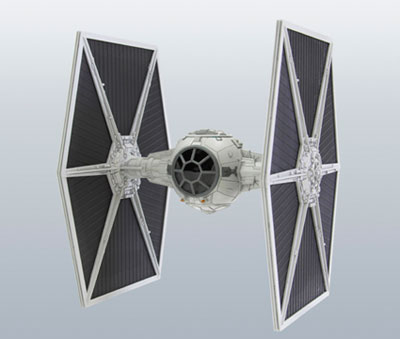 Star Wars Plastic Model SW12 1/48 TIE Fighter