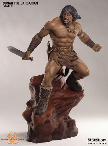 Conan the Barbarian - Statue: Conan(Back-order)