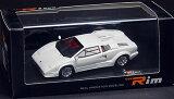 モデルカー 1/43 ランボルギーニ 25th アニバーサリー パールホワイト[Real Innovation Modeling]《発売済?取り寄せ品》