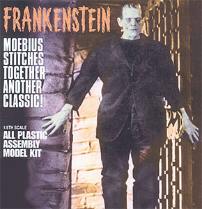 Moebius Models Plastic Model 1/8 Frankenstein's Monster
