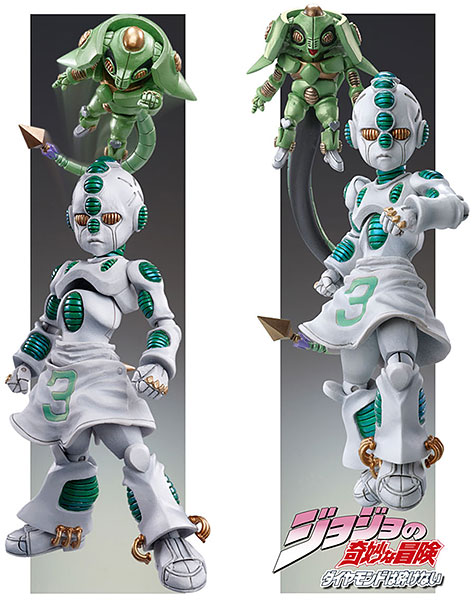Super Action Statue - JoJo's Bizarre Adventure Part.IV #24 Echoes ACT2 & ACT3 (Hirohiko Araki Specified Color)(Released)