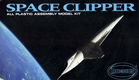 Moebius Models Plastic Model 1/144 Space Clipper