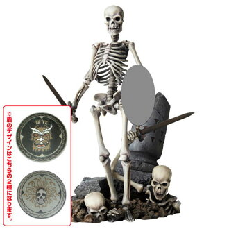 Tokusatsu Revoltech No.020 Skeleton Army 2nd Ver. from Jason and the Argonauts