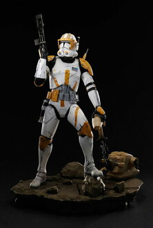 Star Wars ARTFX Commander Cody Light-up Edition PVC Pre-painted Easy Assembly Kit