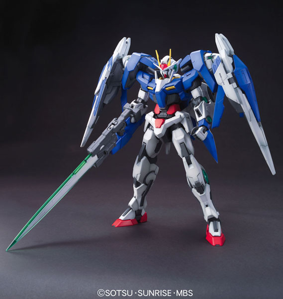 "MG 1/100 00 Raiser Plastic Model  From ""Mobile Suit Gundam 00""(Released)"
