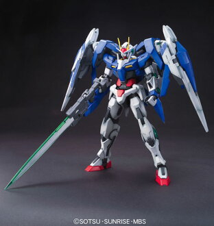 "MG 1/100 00 Raiser Plastic Model  From ""Mobile Suit Gundam 00""(Back-order)"