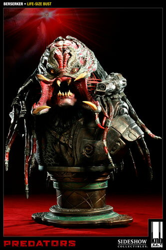 Predators - Life-size Bust: The Berserker