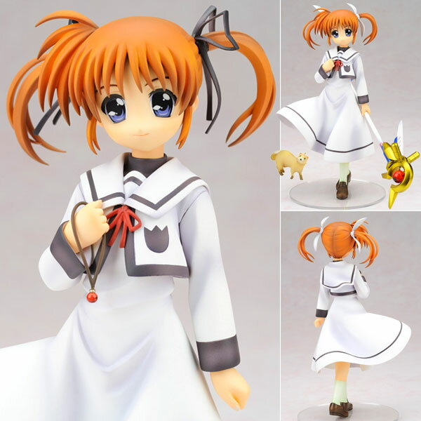 Magical Girl Lyrical Nanoha The MOVIE 1st - Nanoha Takamachi Uniform Ver. 1/7 Complete Figure
