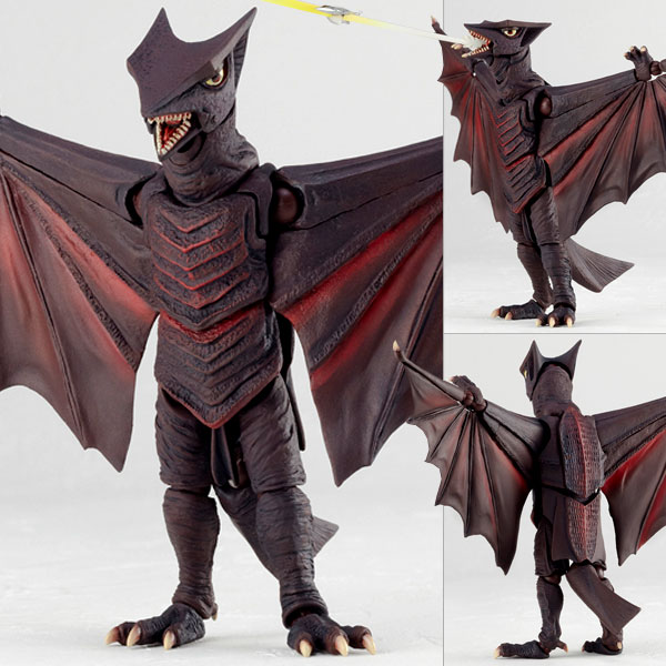 "Tokusatsu Revoltech No.027 Gyaos [1967] ""Return of The Giant Monsters Gyaos VS Gamera""(Back-order)"