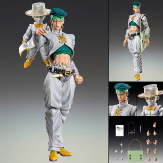 Super Action Statue - JoJo's Bizarre Adventure Part.IV #29 Rohan Kishibe & Heavens Door Ver.1 (Hirohiko Araki Specified Color)(Released)(超像可動 ジョジョの奇妙な冒険 第四部 29. 岸辺露伴&ヘブンズ・ドアー Ver.1)