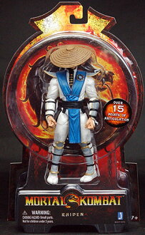 Mortal Kombat - Raiden 6 Inch Action Figure