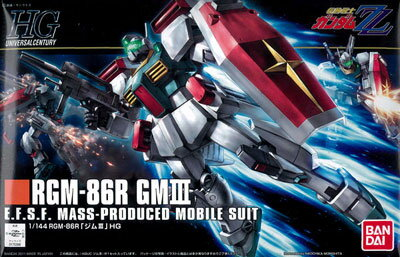 HGUC 1/144 GM III Plastic Model